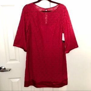 Shelli Segal Lace Dress